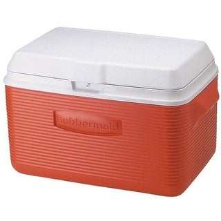 Rubbermaid 2A2002MODRD Victory Cooler, 34-Quart, Red