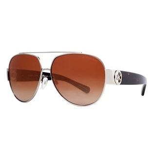 MICHAEL KORS Aviator MK 5012 Women's 1068 13 Gunmetal Brown Gradient Sunglasses - 59mm-12mm-135mm