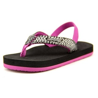 Reef Little Cushion Sassy Youth Open-Toe Synthetic Slingback Sandal