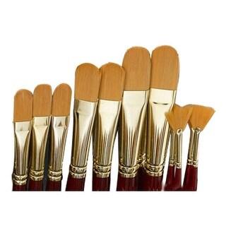 Grumbacher - Golden Edge Acrylic Brush - Flat - 10