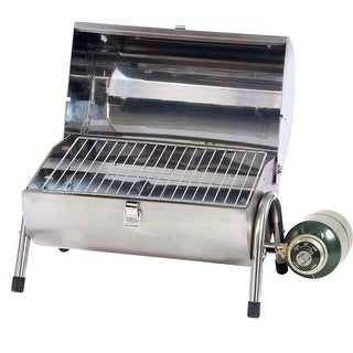 Stansport Propane Stainless Steel Barbeque Grill 35