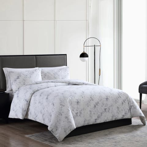 Vera Wang Pointillist Cotton Blue Comforter Set