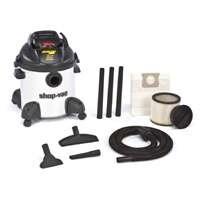 Shop Vac 2869576 8 Gallon 4 Peak Hp Stainless Steel Hardware Store Pro Wet & Dry Vacuum