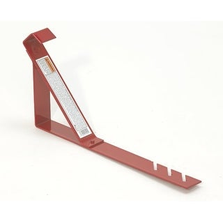"""Qual-Craft 2501 45-Degree Fixed-Angle Roofing Bracket with 10""""-Platform"""