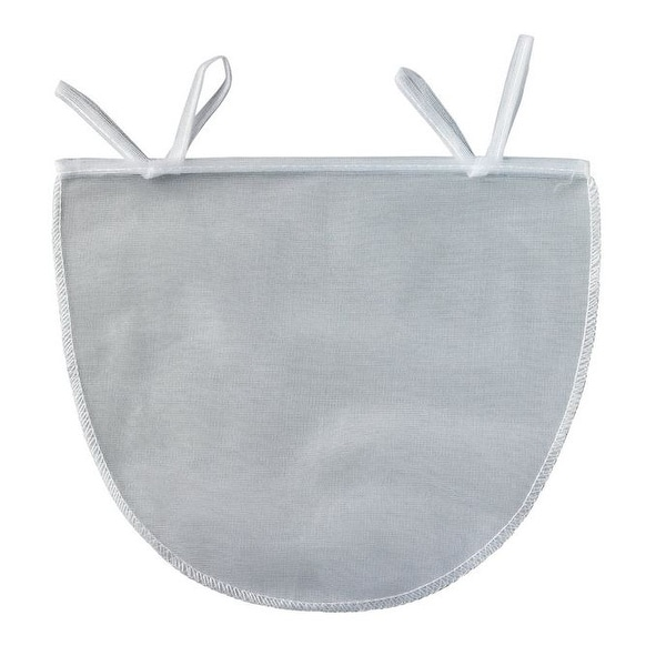 "HIC 43869 Polyester Mesh Nut Milk Bag, 11"" X 9"""
