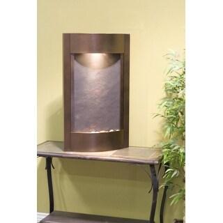 Adagio Serene Waters Fountain w/ Rajah Featherstone in Copper Vein Finish