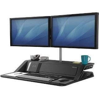 Fellowes - 8080301 - Lotus Dx Sit Stand Workstation