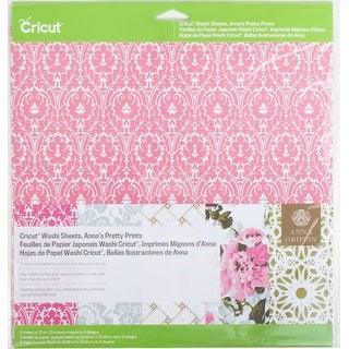 "Assorted - Cricut Washi Sheets 12""X12"" 5/Pkg"