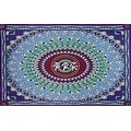 Cotton Grateful Dead Tapestry Wall Hanging Classic Dancing Bear 60x90 & 30x45 inches - Thumbnail 0