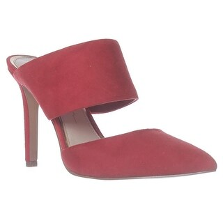 Jessica Simpson Chandra Mule Sandals - Red Muse
