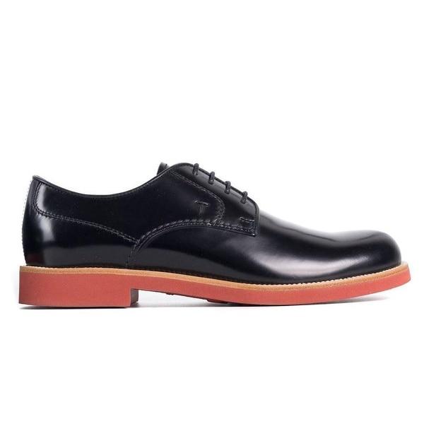 mens black leather derby shoes