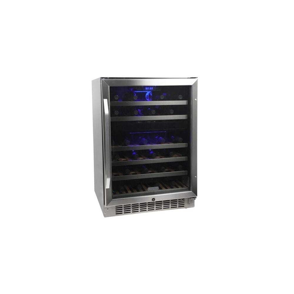 EdgeStar CWR461DZ 24 Inch Wide 46 Bottle Built-In Wine Cooler with Dual Cooling Zones  sc 1 st  Overstock.com & Buy Wine Refrigerators u0026 Coolers Online at Overstock.com | Our Best ...