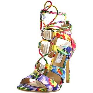 Madden Girl Sandy Women  Open Toe Canvas Multi Color Sandals