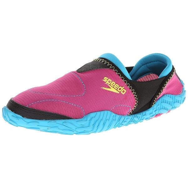 Speedo Womens Offshore Fabric Low Top Slip On Running Sneaker