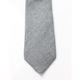 Original Penguin NEW Gray Men's One Size Sunny Isle Solid Slim Neck Tie