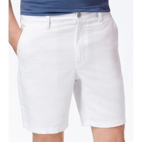 Michael Kors Mens Tailored Fit Chino Deck Shorts