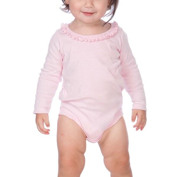 Kavio! Infants Sunflower Long Sleeve Bodysuit