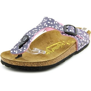 Papillio Gizeh Birkoflor N Open Toe Synthetic Thong Sandal