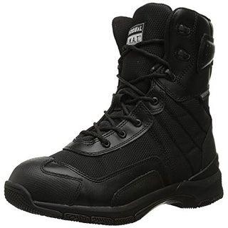 "Original S.W.A.T. Mens H.A.W.K 9"" Faux Leather Waterproof Tactical Boots - 4.5 medium (d)"