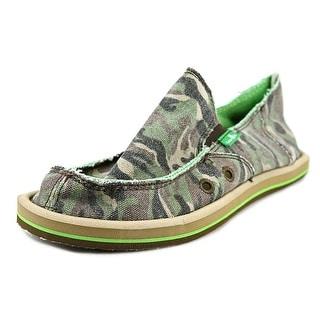 Sanuk Donny Moc Toe Canvas Loafer