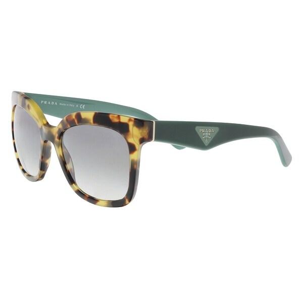 4810fbce90f2 Shop Prada PR24QS 7S01E0 Medium Havana Square Sunglasses - 53-19-140 ...