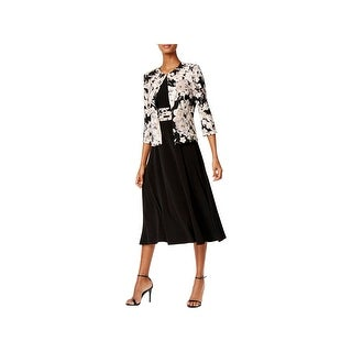 Jessica Howard Womens Petites Dress With Jacket Professional Day to Night