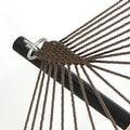 Sunnydaze Caribbean XL Rope Hammock with Spreader Bars - Thumbnail 2