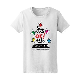 Okay To Be Different Autism Tee Women's -Image by Shutterstock