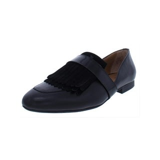 G.H. Bass & Co. Womens Harlow Loafers Solid Tassel