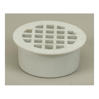 "Proflo PF42938 3"" ABS All Plastic Snap-In Drain"