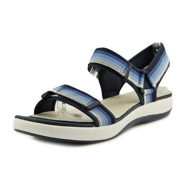 ee02f408481 Shop Clarks Cloudsteppers Brizo Sammie Women Navy Sandals - Free ...