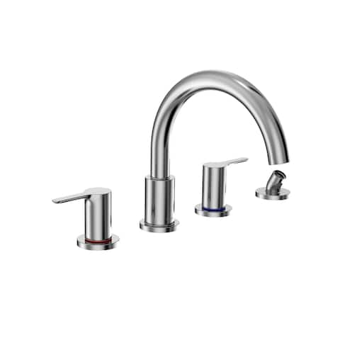 Toto TBS01202U Global Deck Mounted Roman Tub Filler