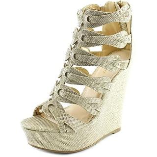 Bamboo Eliza-48 Women Open Toe Synthetic Platform Sandal
