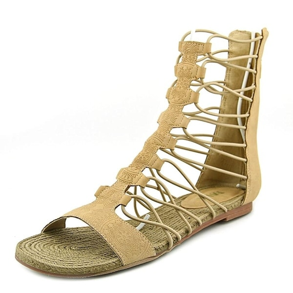 MIA Womens Dominica Open Toe Casual Gladiator Sandals
