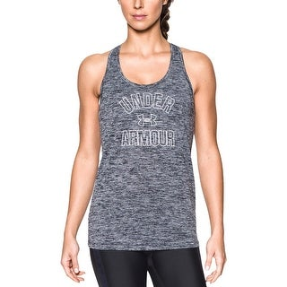Under Armour Womens Tank Top Heathered Graphic - XL