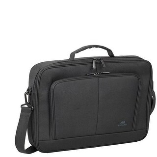 Rivacase 8431BKCS 15.6 in. Laptop Clamshell Case, Black