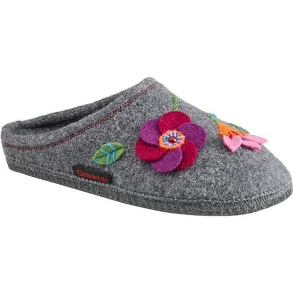 c991c121f21a Shop Giesswein Women s Flora House Slipper Schiefer - Free Shipping Today -  Overstock - 11789283