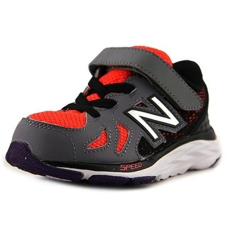 New Balance KV790 Toddler W Round Toe Leather Gray Sneakers