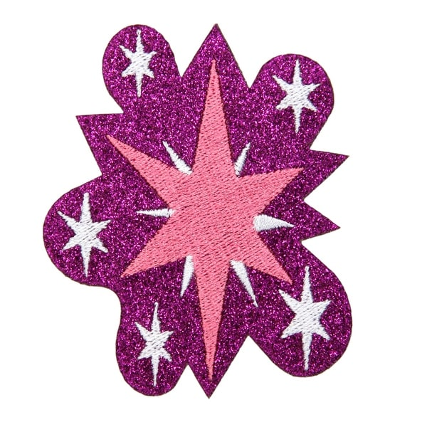 My Little Pony Twilight Sparkle Glitter Costume Patch Unisize