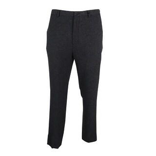 Calvin Klein Men's Textured Dobby Pants - Black