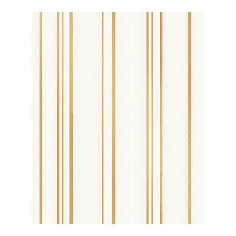 Thierry Gold Stripe Wallpaper - 20.5 x 396 x 0.025