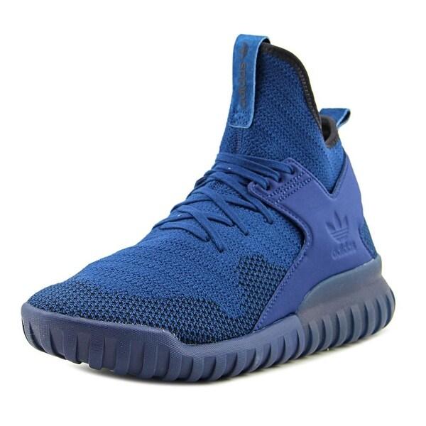 Adidas Tubular X Pk Men Round Toe Synthetic Blue Sneakers