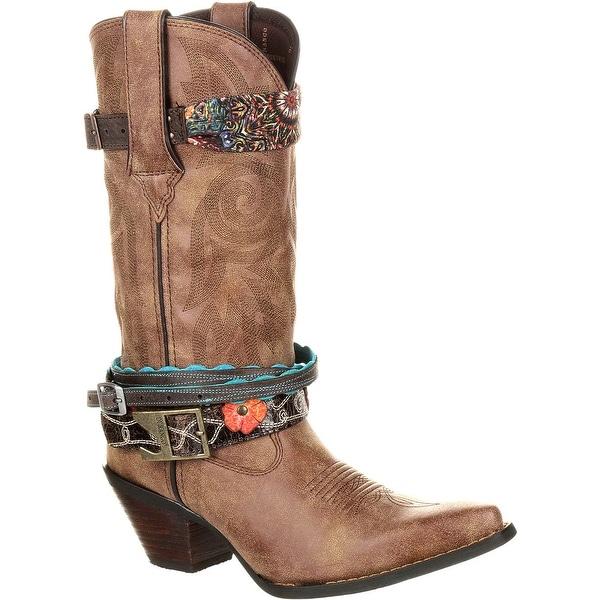 Crush by Durango Women's Accessorized Western Boot, #DCRD145