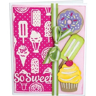 Sweet Treats - Sizzix Thinlits W/Textured Impressions By Courtney Chilson