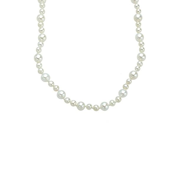 100-inch 'Opera Length' 3-5.5mm Freshwater Pearl Strand Necklace