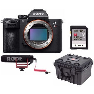 Sony a7R III 42.4MP Full-frame Mirrorless Camera with Rode VidMic GO Bundle