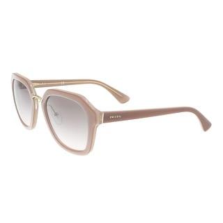 72980eb883b8 Shop Prada PR 25RS UEC4K0 Opal Powder Square Cinema Sunglasses - 55-21-140  - Free Shipping Today - Overstock - 16956702