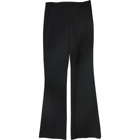 Trina Turk Womens Solid Dress Pants, Black, 4