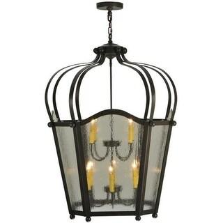2nd Ave Lighting 10 Light Citadel Foyer Lanterns - Timeless Bronze