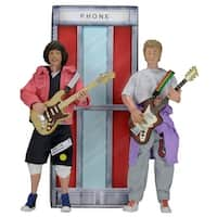 """Bill and Ted's Excellent Adventure Bill and Ted 8"""" Clothed Figure 2-Pack - multi"""